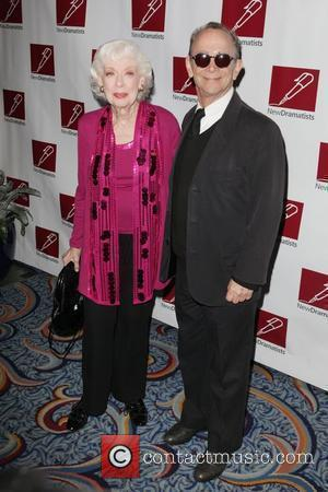 Joyce Randolph, Joel Grey New Dramatists 62nd Annual Benefit Luncheon at the Marriot Marquis New York City, USA - 17.05.11