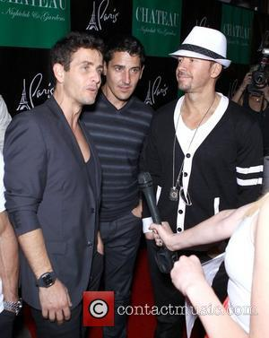 New Kids On The Block New Kids On The Block official after party at Chateau Nightclub and Gardens inside the...