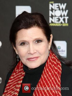 Carrie Fisher Loses 30 Pounds On Weightloss Plan