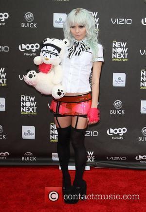 Kerli  Logo's 2011 'NewNowNext' Awards held at Avalon - Arrivals  Los Angeles, California - 07.04.11