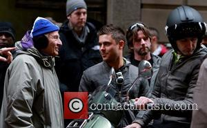 Garry Marshall, Michelle Pfeiffer and Zac Efron