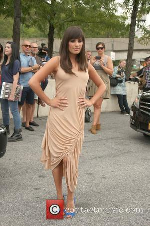 Glee, Lea Michele and New York Fashion Week