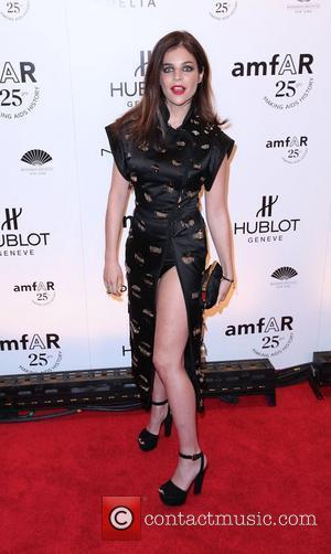 Julia Restoin-Roitfeld  AmFar's New York Gala 2011 ahead of Mercedes-Benz Fashion Week, held at Cipriani Wall Street New York...