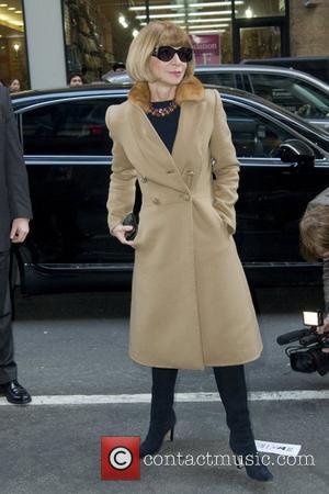 Anna Wintour and Calvin Klein