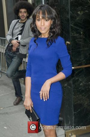 Kerry Washington and Calvin Klein