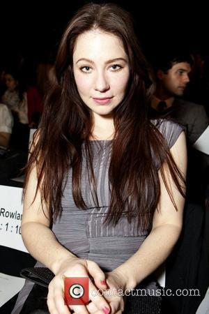 Lynn Collins Mercedes-Benz IMG New York Fashion Week Fall 2011 - BCBG MAX AZRIA - Front Row Los Angeles, California...
