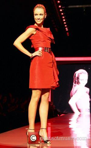 Katrina Bowden and Oscar De La Renta