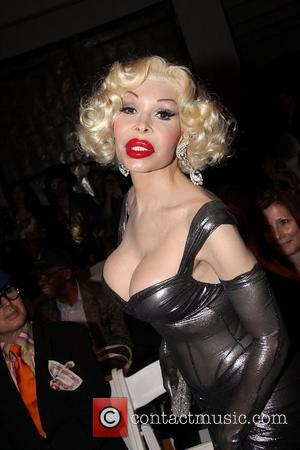 Amanda Lepore New York Mercedes-Benz Fashion Week Spring 2012 - The Blonds presented by Playboy - Center548 - Inside New...