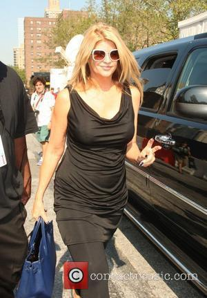 Kirstie Alley New York Mercedes-Benz Fashion Week Spring 2012 - Vera Wang - Outside Arrivals New York City, USA -...