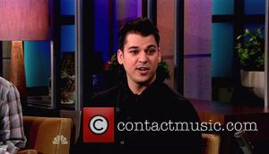 Rob Kardashian appears on NBC's 'The Tonight Show with Jay Leno' to talk about his season on 'Dancing with the...