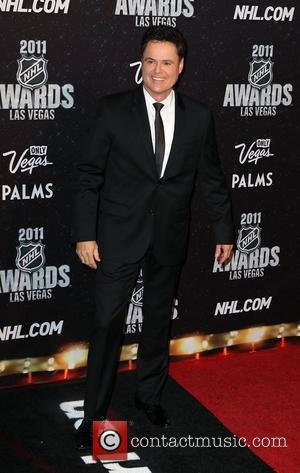 Donny Osmond The NHL Awards 2011 at The Palms Casino Resort - Arrivals Las Vegas, Nevada - 22.06.11