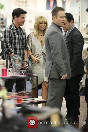 Nicole Richie at Fred Segal in West Hollywood where she was promoting her House Of Harlow jewelry line West Hollywood,...
