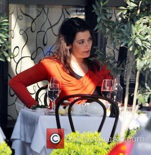 Nigella Lawson having lunch at Scott's Restaurant London, England - 27.03.11