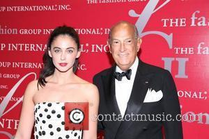 Erica Bearman and Oscar De La Renta  attends Fashion Group International's 28th annual Night of Stars at Cipriani Wall...