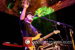Nils Lofgren of Bruce Spingsteen's E.Street Band performing on the first night of his UK tour at The Brook in...