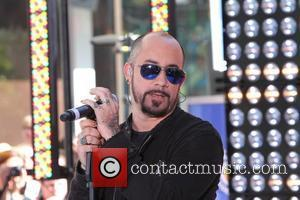 AJ McLean New Kids On The Block and Backstreet Boys perform live on on NBC's 'Today'  New York City,...