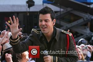 Jordan Knight New Kids On The Block and Backstreet Boys perform live on on NBC's 'Today'  New York City,...