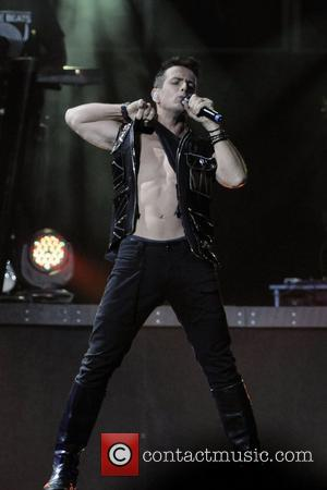Joey McIntyre  NKOTBSB Tour - New Kids On The Block and Backstreet Boys perform on stage at the Air...