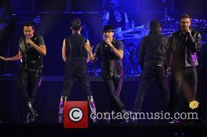 Howie Dorough, Backstreet Boys, Brian Littrell and Nick Carter