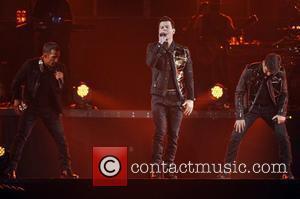 Jordan Knight, Backstreet Boys, Brian Littrell and Nick Carter