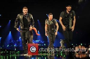 Nick Carter, Backstreet Boys and Brian Littrell