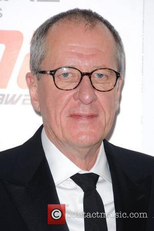Geoffrey Rush National Movie Awards held at the Wembley Arena - Press Room.  London, England - 11.05.11