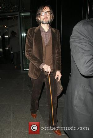 Jarvis Cocker Celebrities outside the NME Awards after party held at W London Hotel London, England - 24.02.11