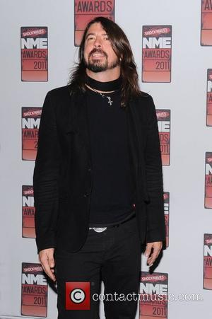 Dave Grohl Shockwaves NME Awards 2011 held at the O2 Academy Brixton - Arrivals London, England - 23.02.11