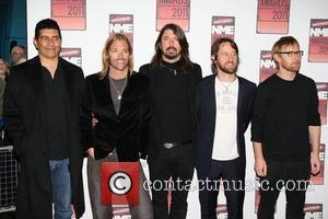 Dave Grohl and the Foo Fighters Shockwaves NME Awards 2011 held at the O2 Academy Brixton - Arrivals London, England...