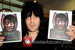 Noel Fielding attends his book signing at Waterstone's at Arndale Centre in Manchester Manchester, England - 12.11.11