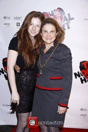 Amanda Claire Levy and her mom Tovah Feldshuh  Opening night of the Broadway production of 'The Normal Heart' at...