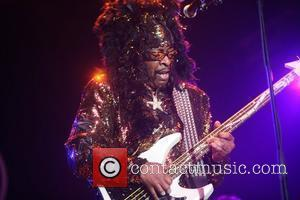 Bootsy Collins Seal The North Sea Jazz Festival - Day 3 Rotterdam, Holland - 10.07.11