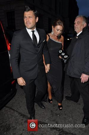Mark Wright and Lauren Goodger  News Of The World Childrens Champions Awards, held at the Grosvenor House - Outside...