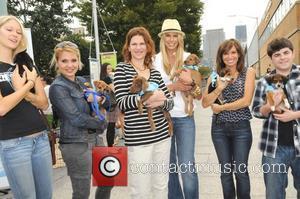 Jen Araki, Sandra Bernhard, Beth Stern, Sara Gore, Josh Flitter Beth Stern hosts the Celebrity Rescue Rally Pet Adoption Event...