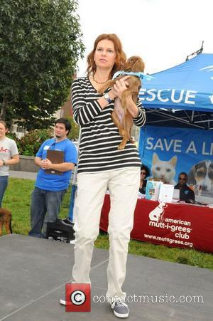 Sandra Bernhard Beth Stern hosts the Celebrity Rescue Rally Pet Adoption Event - Mutt-i-grees Mania held at Hudson River Park...
