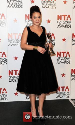 Lacey Turner,  The National Television Awards 2011 (NTA's) held at the O2 centre - Winners Boards London, England -...