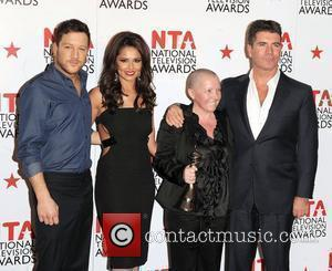 Matt Cardle, Cheryl Tweedy and Simon Cowell