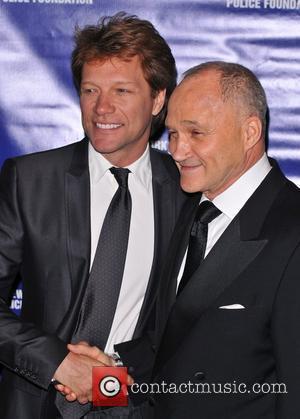 Jon Bon Jovi and Commissioner of the NYPD Raymond Kelly New York City Police Foundation 40th Anniversary Gala - Inside...