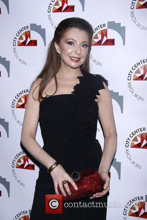 Donna Murphy  New York City Center Reopening Gala.  New York City, USA - 25.10.11