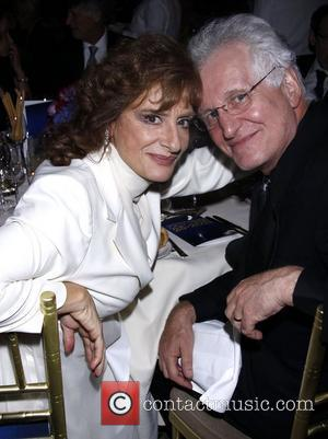 Patti LuPone and Encores! Artistic Director Jack Viertel  New York City Center Reopening Gala.  New York City, USA...