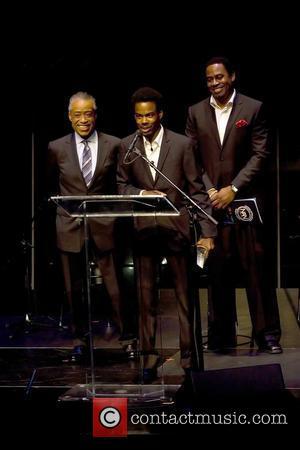 Al Sharpton, Chris Rock and Lamman Rucker