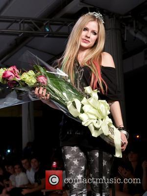 Avril Lavigne New York Mercedes-Benz Fashion Week Spring 2012 - Abbey Dawn - Runway New York City, USA - 12.09.11