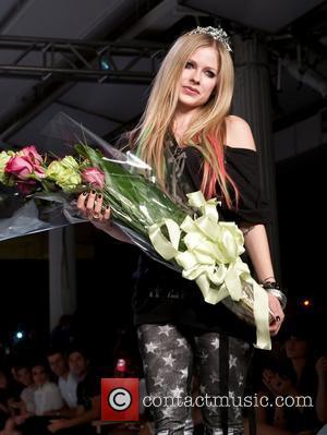Avril Lavigne New York Mercedes-Benz Fashion Week Spring 2012 - Abbey Dawn - Runway New York City, USA - 12.09.11