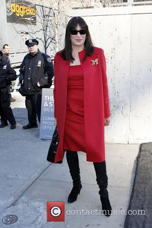 Anjelica Huston Mercedes-Benz IMG New York Fashion Week Fall 2011 - Celebrities out and about at Lincoln Center New York...