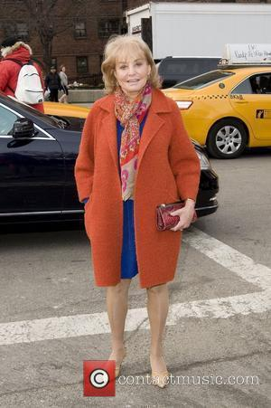 Barbara Walters,  Mercedes-Benz IMG New York Fashion Week Fall 2011 - Outside Arrivals New York City, USA - 13.02.11