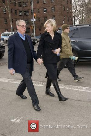 Diane Sawyer and Mike Nichols,  Mercedes-Benz IMG New York Fashion Week Fall 2011 - Outside Arrivals New York City,...