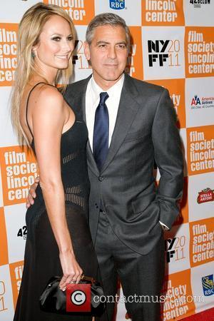 George Clooney, Stacy Keibler and The Descendants