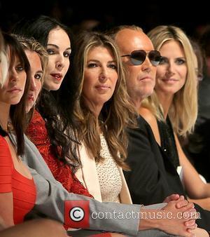 L'Wren Scott, Nina Garcia, Michael Kors, Heidi Klum  Mercedes-Benz New York Fashion Week Spring/Summer 2012 - Project Runway -...