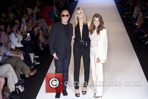 Michael Kors, Heidi Klum and Nina Garcia