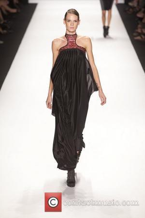 Model and Heidi Klum